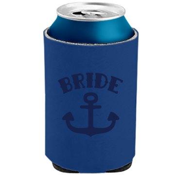 Nautical Beach Bride Anchor