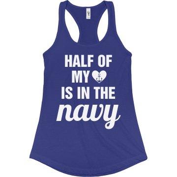 Navy Heart