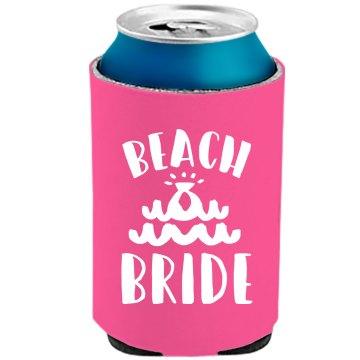 Neon Koozie Beach Bride Party