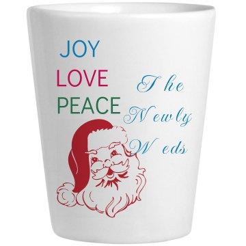 Newly Wed Christmas Mug