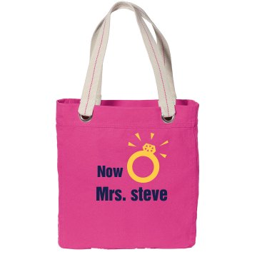 Newly Wed Tote Bag