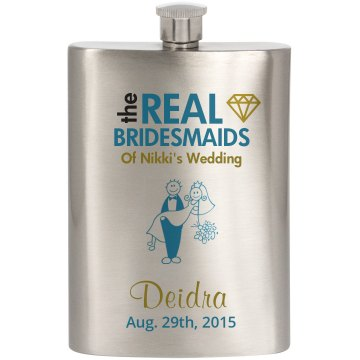 Nikki's Bridal Flask 2