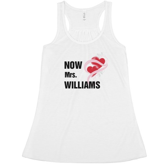 Now Mrs After the Wedding Tank
