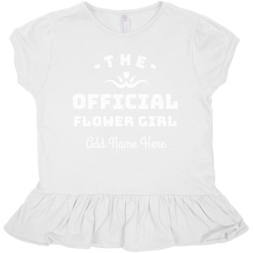 Official Flower Girl