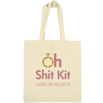 Oh Shit Kit Bachelorette Tote
