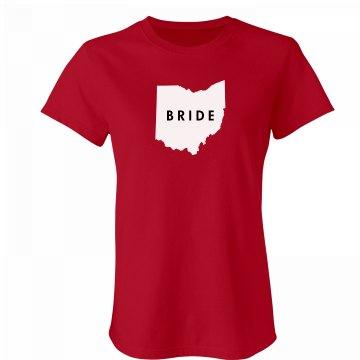 Ohio Bride Tee