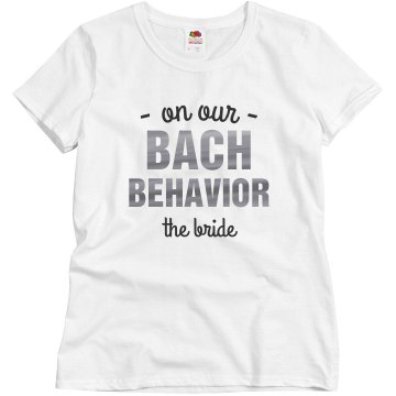 On Our Bach Behavior - Bride