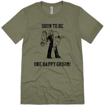 One Happy Groom!