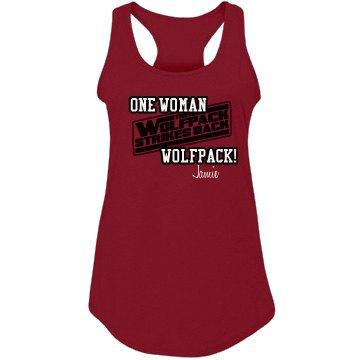 One Woman Wolfpack Tee
