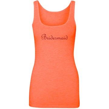 Orange Bridesmaid Script