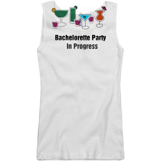 Party in Progress Tank