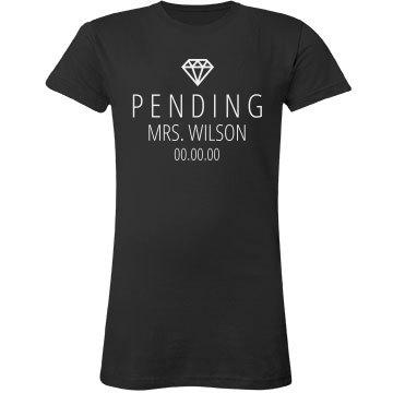 Pending Mrs. Wilson