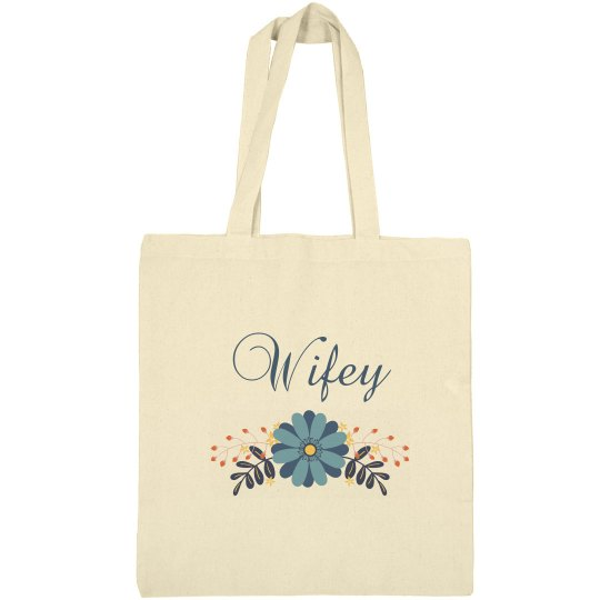 Perfect tote bag for the newly wed bride