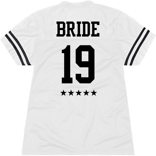 Personalized All Star Bride Jersey
