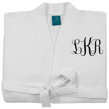 Personalized Monogram Bridal Robe
