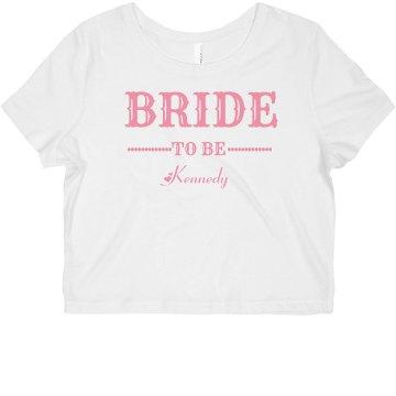 Pink Bide to Be