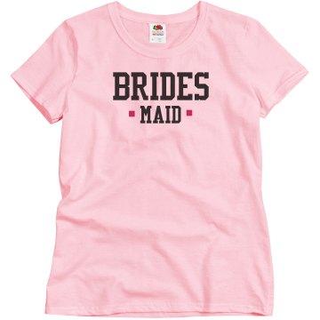 Pink Bridesmaid