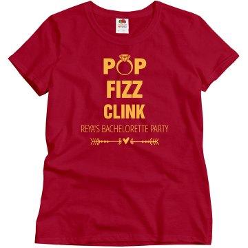 Pop Fizz Clink Bachelorette Party