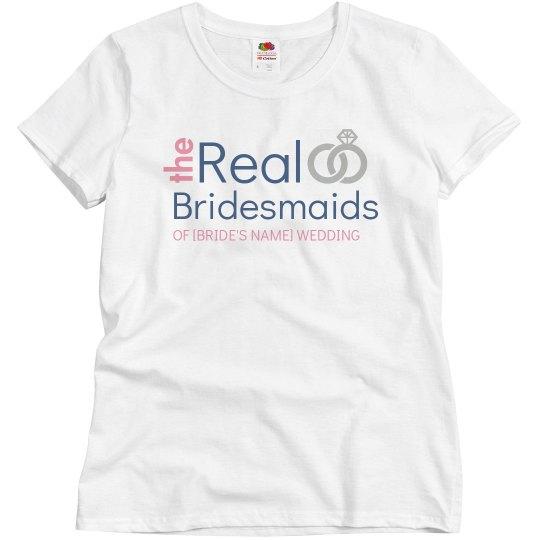 Real Bridesmaids Add Name