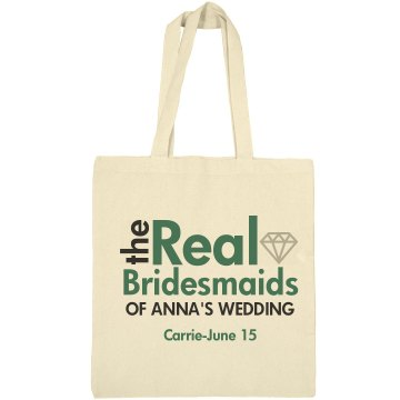 Real Bridesmaids Bag