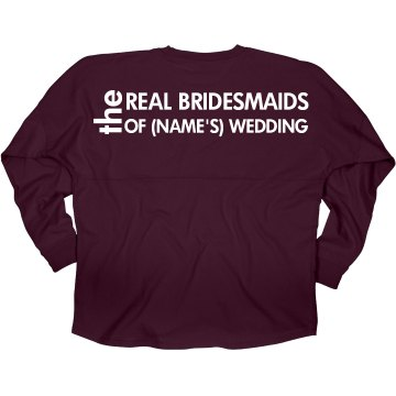 Real Bridesmaids Jersey