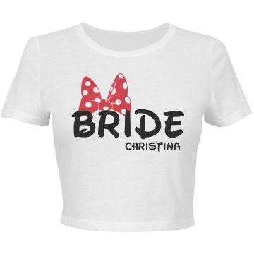 Red Bride Bow