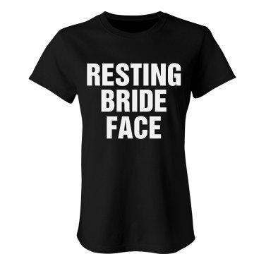 Resting Bride Face
