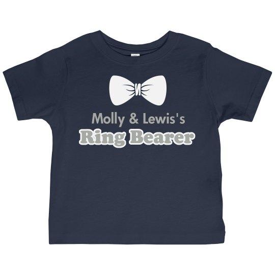 Ring Bearer Bow Tie Tee
