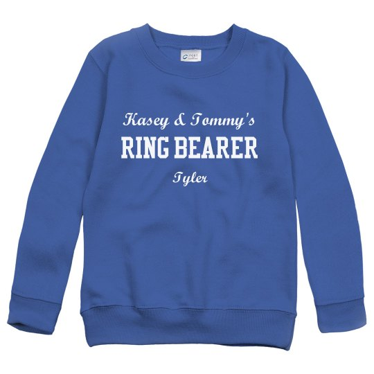 Ring Bearer Sweatshirt