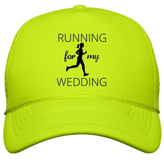 Running for my Wedding Trucker Hat