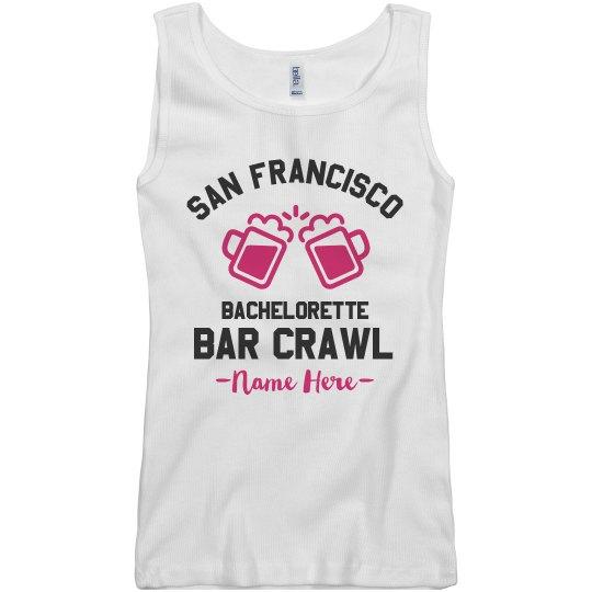 San Francisco Bachelorette Bar Crawl