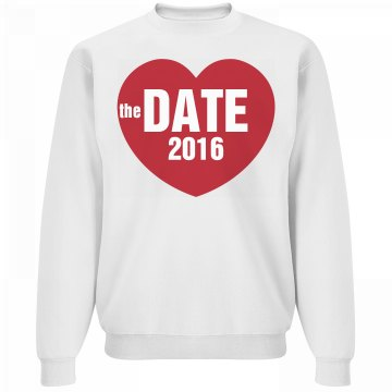 Save The Date Fleece Guy
