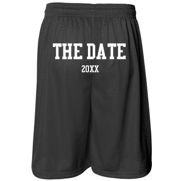 Save The Date Shorts