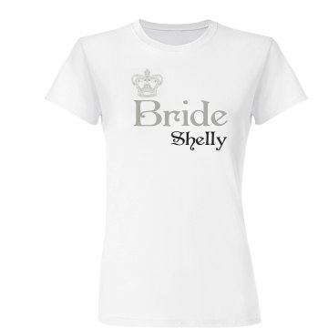 Shelly The Bride Custom T