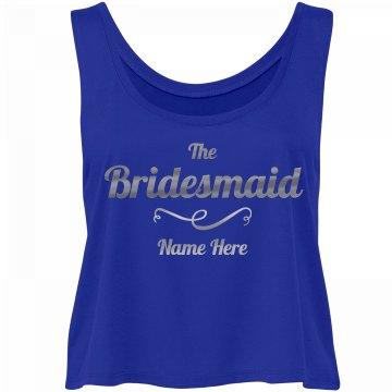 Silver Metallic Bridesmaid