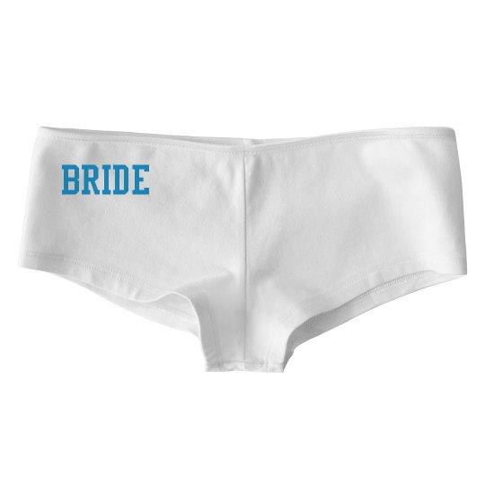 Simple bridal panties