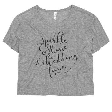 Sparkle and Shine Wedding Time