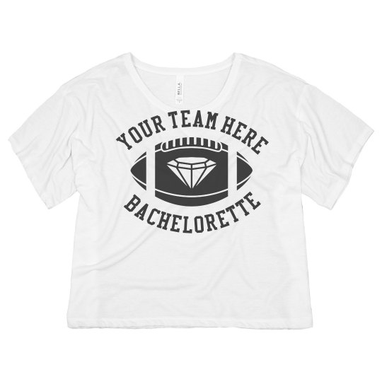 Sports Bachelorette Crop
