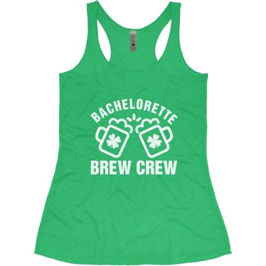 St. Patrick's Bride's Brew Crew