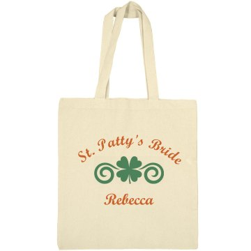 St Patty's Bride Tote