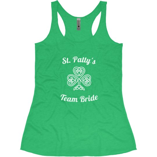 St. Patty's Team Bride