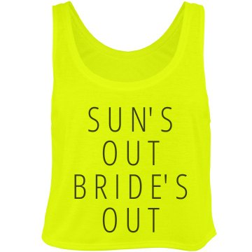 Sun's Out Bride's Out