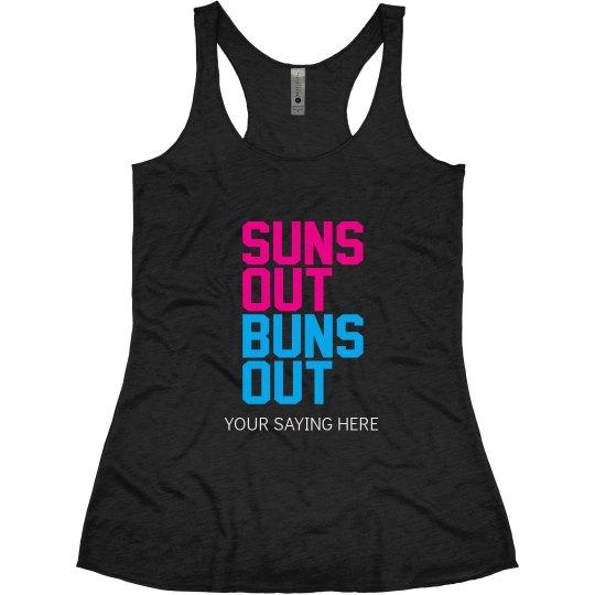Suns Out Buns Out Bachelroette