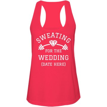 Sweating For The Wedding Fitness