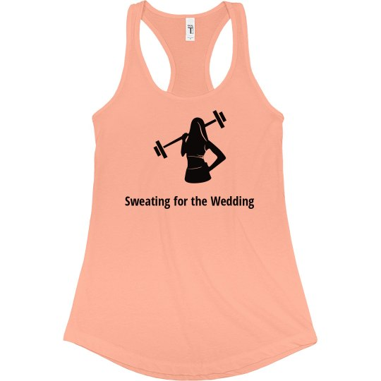 Sweating for Wedding Tank