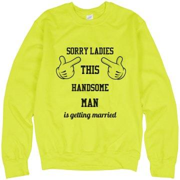Sweatshirt for Groom