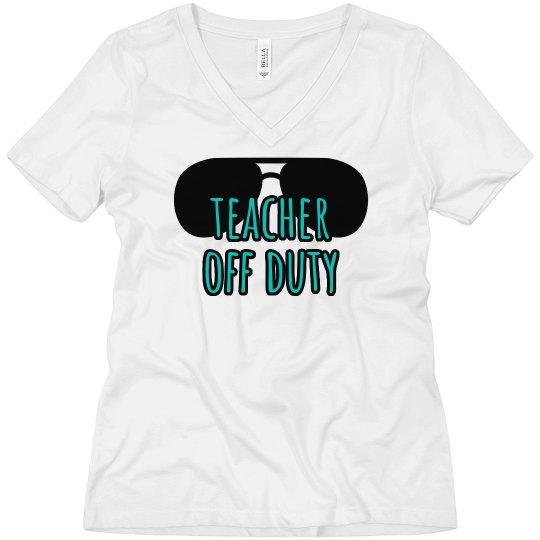 Teacher Off Duty Tee