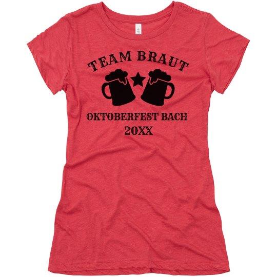Team Braut Oktoberfest Bach