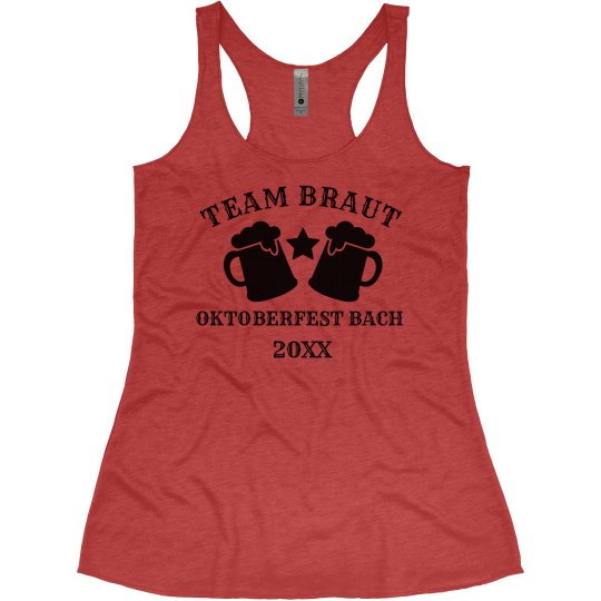 Team Braut Oktoberfest Bachelorette