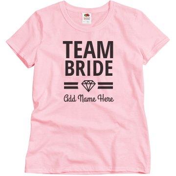 Team Bride Bridal Party